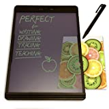 Boogie Board Blackboard Writing Tablet - LCD Drawing Pad and Electronic Digital Notepad - Reusable and Erasable Ewriter - Great for Note Taking Feels Just Like Paper and Pencil (Color: Blackboard Letter - 8.5x11)
