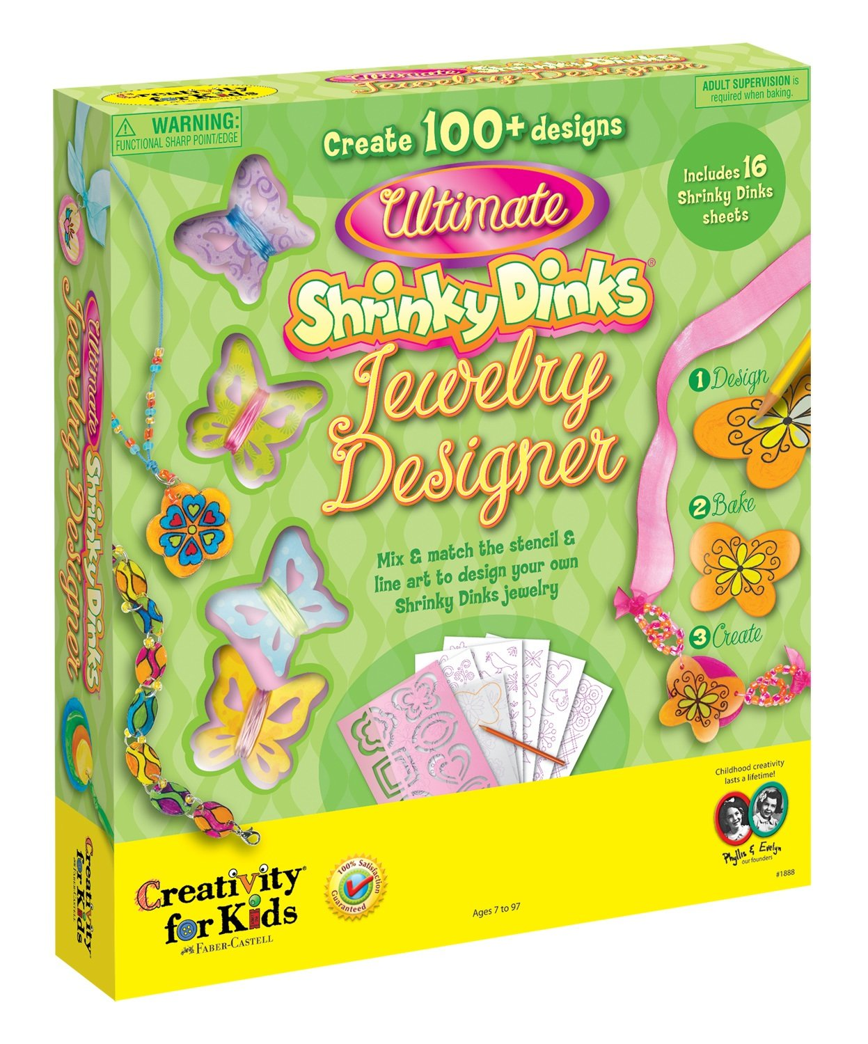 Ultimate ®Shrinky Dinks Jewelry Designer $14.95
