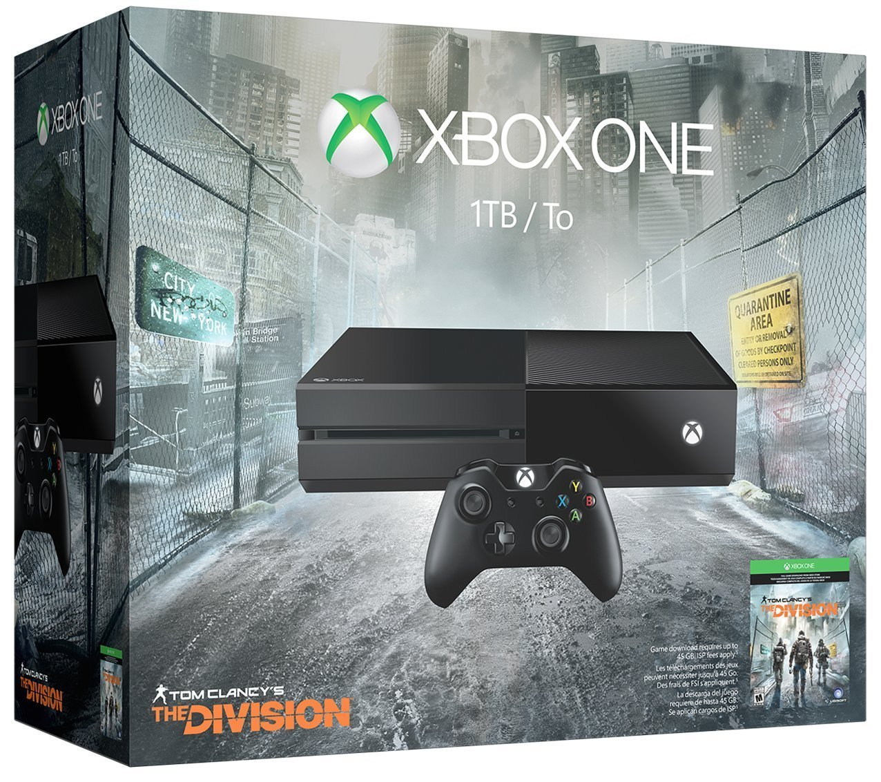 PRIME ONLY DEALS!! Xbox One 1TB Console - Tom Clancys The Division Bundle