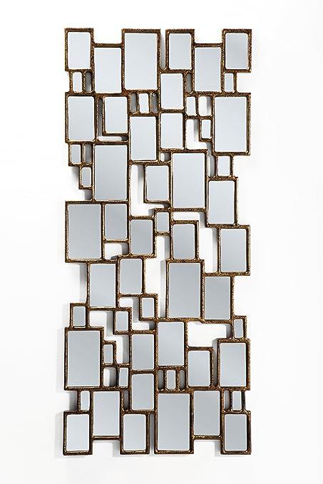 Kare 132 x 54 cm Mirror Cubes, Copper