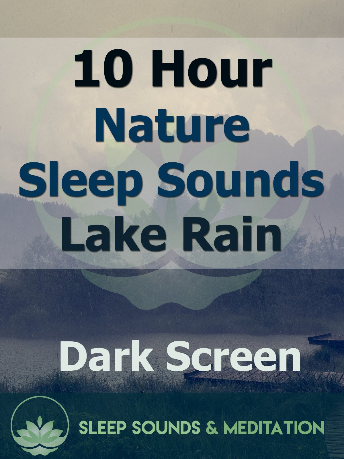 10 Hour Nature Sleep Sounds, Lake Rain on Amazon Prime Instant Video UK