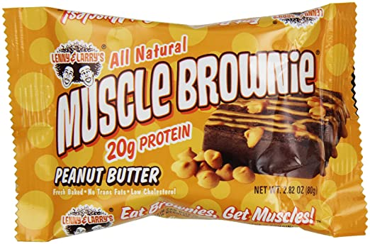Muscle Brownie Nutrition Butter Muscle Brownie