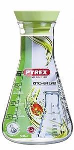 Pyrex Kitchen Lab - Recipiente medidor con tapa, 250 ml   más información y revisión