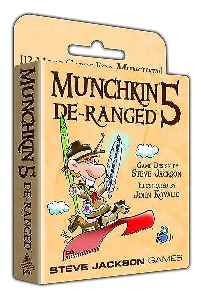 Munchkin - 332168 - Jeu De Cartes - 5 De Ranged