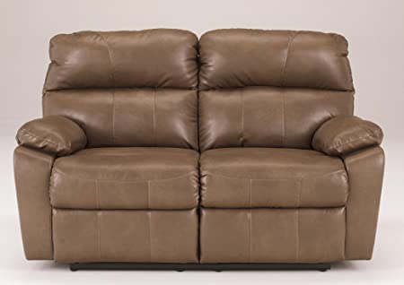 Reclining Loveseat in Taupe by Ashley Furniture