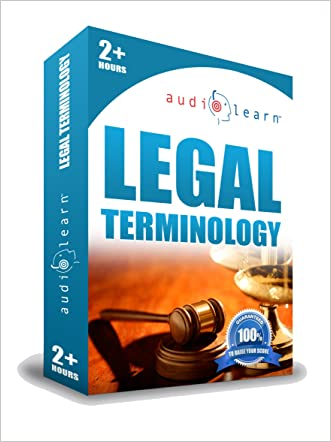 Legal Terminology AudioLearn - The 500 Legal Terms You Must Know!