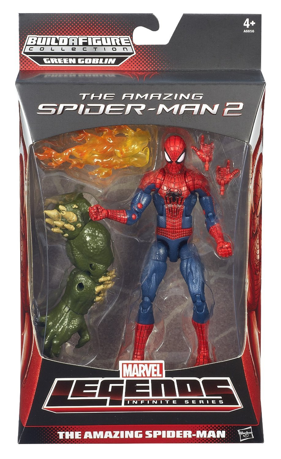 DISNEY Marvel Legends SPIDER-MAN Infinite Actionfigur THE AMAZING SPIDER-MAN – mit Build-A-Green Goblin Part bestellen