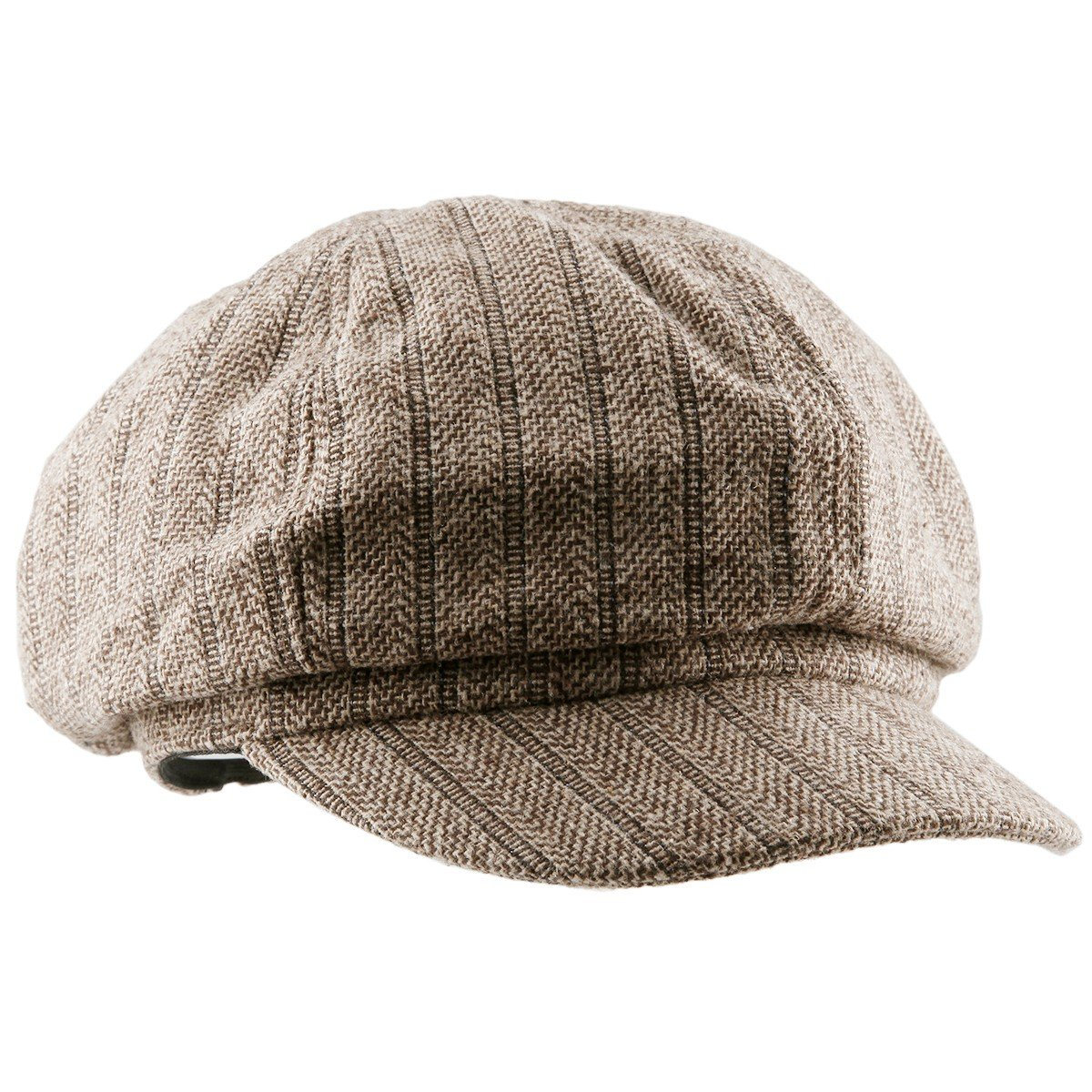 Moonsix Newsboys Hats,Unisex Winter Berets Hat Woolen Cotton Cabbie Cap 1