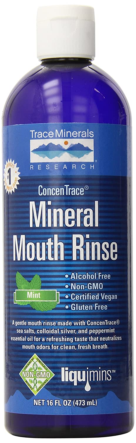 Trace Minerals Research Concentrace Mineral Mouth Rinse, 1.15 Pound