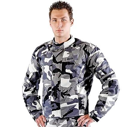 Lemoko tissu camouflage camouflage veste de moto