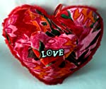 """Shona Kites Cute Soft Valentine Big Heart SHape Pillow or Show piece for your Precious love with Support of SHONA KITES """" Hallmark of Genuine Products"""" LIMITED STOCK LEFT IN SUCH LOW COST"""