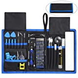 84 in 1 Repair Tools Kit with Magnetic Driver Kit, Apsung Professional Electronics Precision Screwdriver Set with Portable Bag for Repair Computer, Ce
