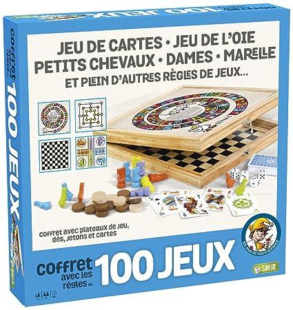 France Cartes - 527600 - Coffret en Bois 100 Jeux