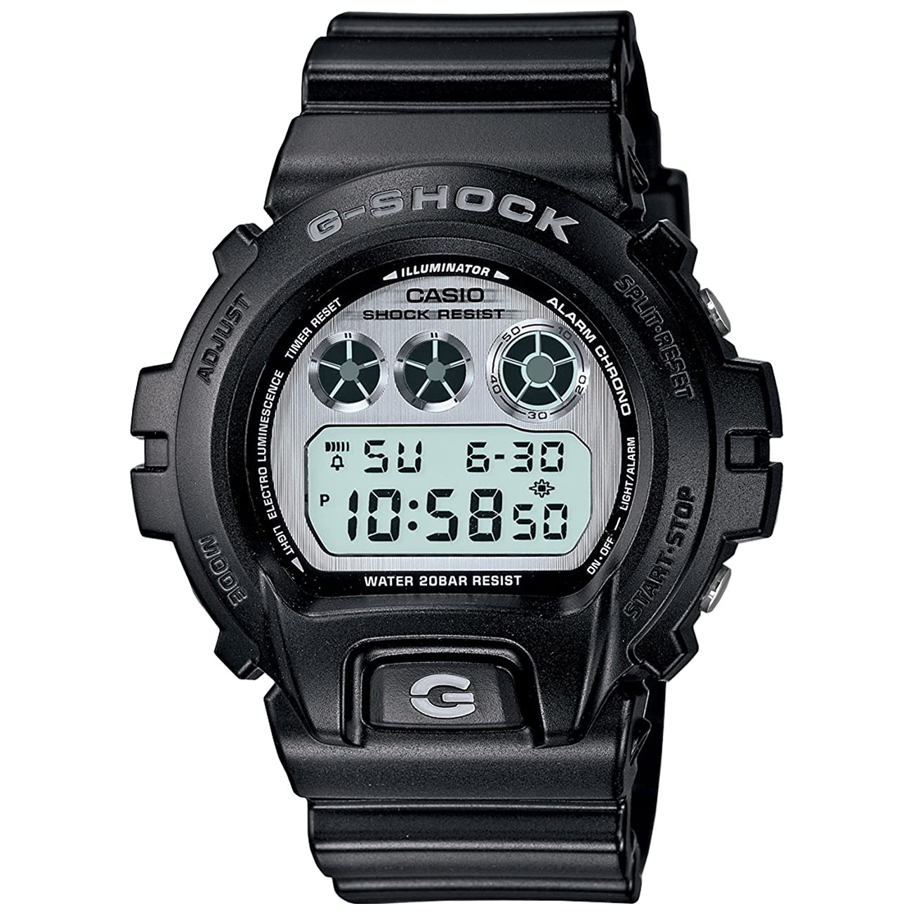 G-Shock Vintage Metal 6900 Watch - Black [Watch] Casio 0