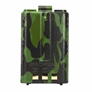 ExpertPower Baofeng Standard Battery (Model: BL-5, 1800 mAh, Camouflage) (Color: Camouflage, Tamaño: UV-5R Standard (1,800 mAh))