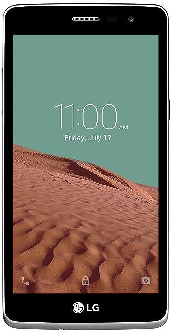 """LG L Bello - Smartphone libre Quad-Core de 1,3 GHz, appareil photo de 8 mégapixels, Android 4.4.2, mémoire RAM 1 Go, mémoire interne 8 Go Couleur : titane 5"""""""