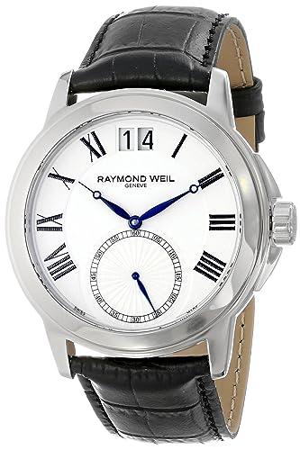 "Raymond Weil Men's 9578-STC-00300 ""Tradition"" Analog Black Dress Watch"