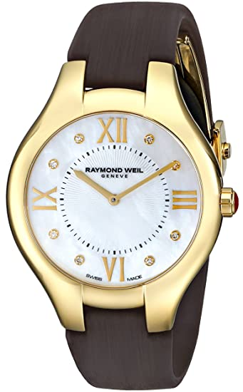 Raymond Weil Women's 5136-P2-00995 Noemia Analog Display Swiss Quartz Brown Watch