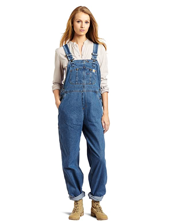 Women's Denim Bib Overall