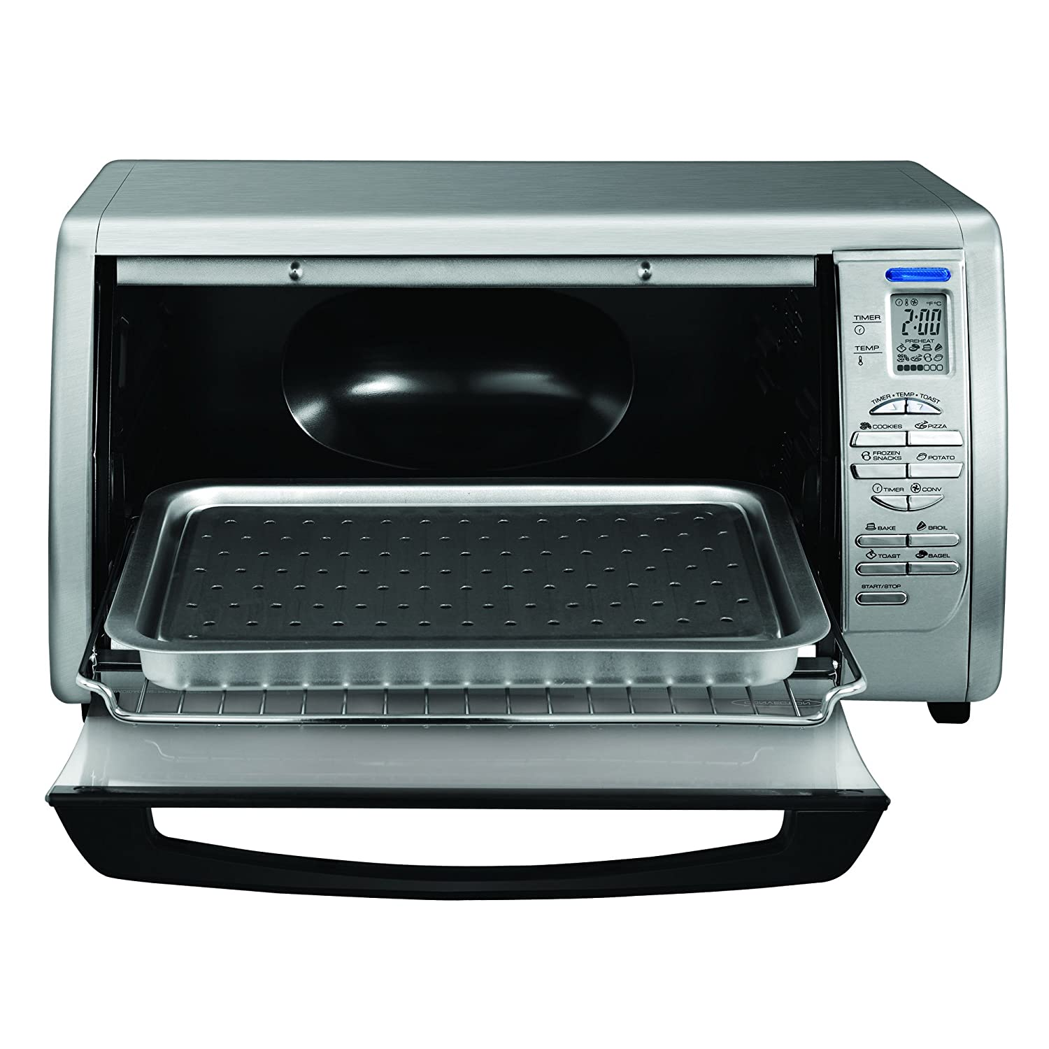 Black Toaster Ovens Decker Cto6335s Stainless Steel