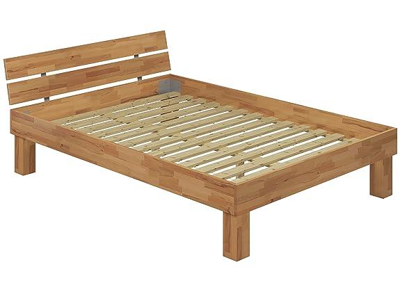 Letto/futon 140x200 in Faggio Eco laccato ANCHE per ANZIANI con doghe di legno 60.81-14 FV