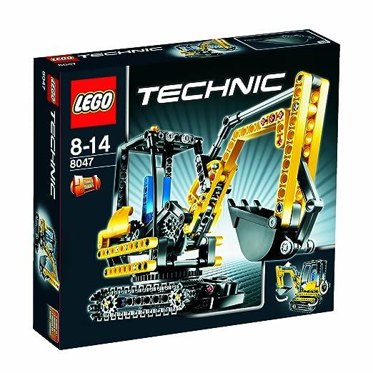 LEGO - 8047 - Jeu de Construction - Technic - La Chargeuse Compacte