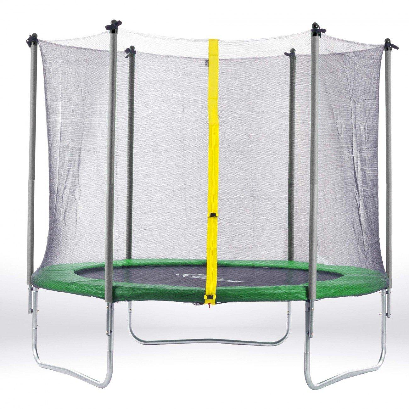 SAMAX Trampolin Gartentrampolin 3,66m (12 ft) Sicherheitsnetz grün günstig bestellen