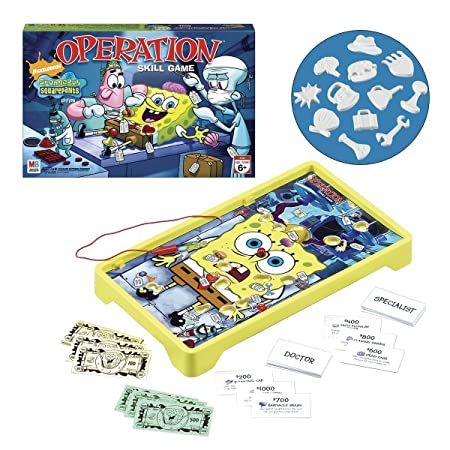 Bob l'Eponge Spongebob Squarepants Operation Game - Jeu de plateau