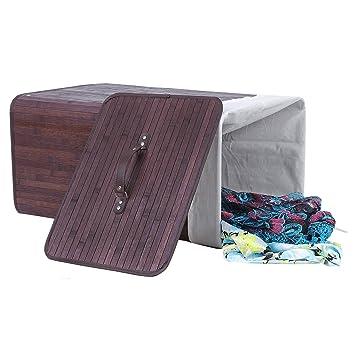 songmics faltbar bambus w schek rbe w schebox w schetruhe w schesammler w schetonne w schewagen. Black Bedroom Furniture Sets. Home Design Ideas