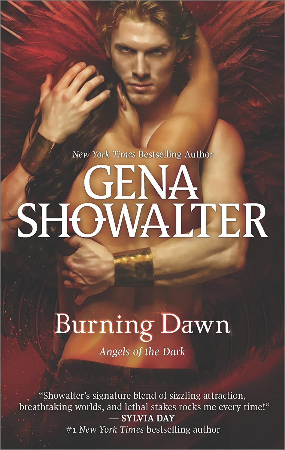 The cover of Burning Dawn by Gena Showalter