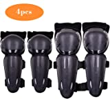 Webetop Kids Knee Pads Elbow Guards 4PC Set for Dirt Bike Skateboarding Motocross BMX Bicycle Cycling Biking Scooter-Fits 5-13 Age Children