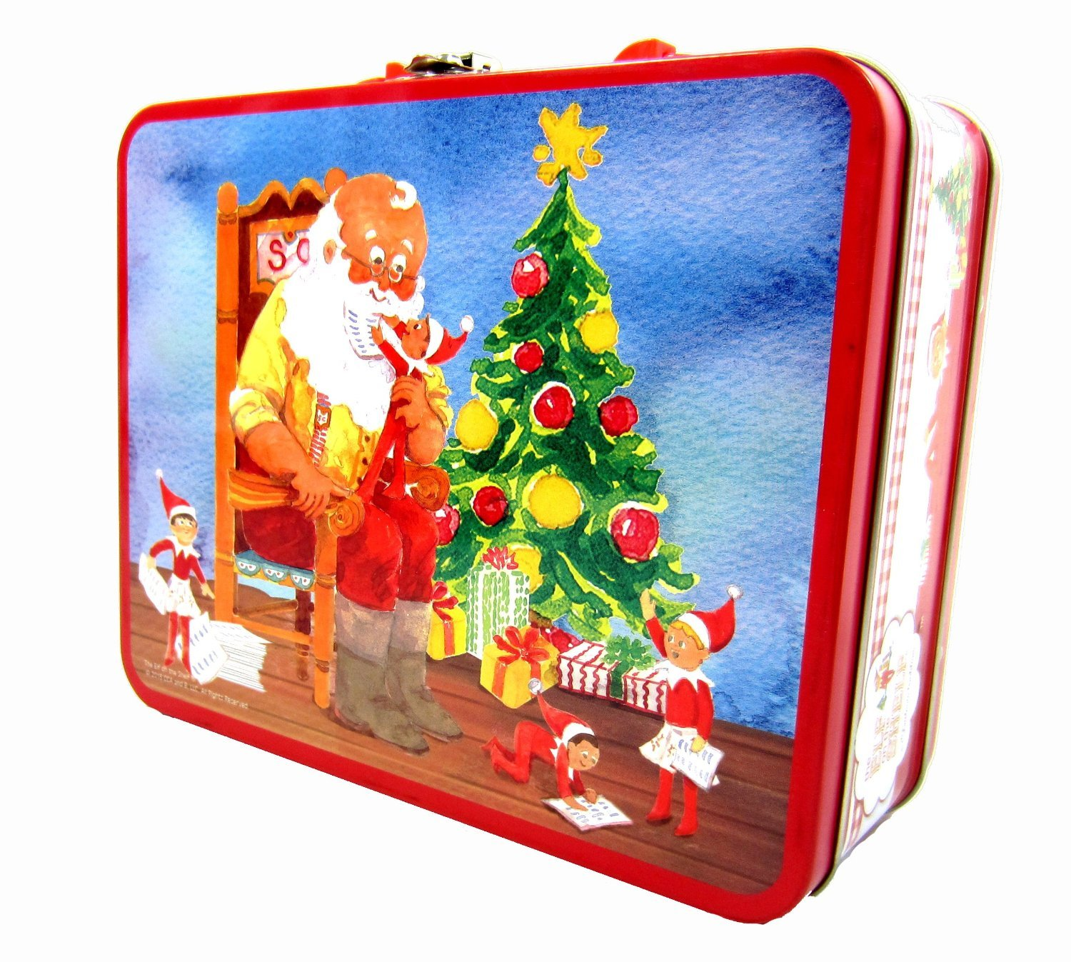 The Elf on the Shelf Lunch box with 48 Puzzle Pieces