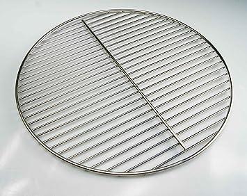 54 5 cm rund edelstahl grillrost f r kugelgrill 54 55 56. Black Bedroom Furniture Sets. Home Design Ideas
