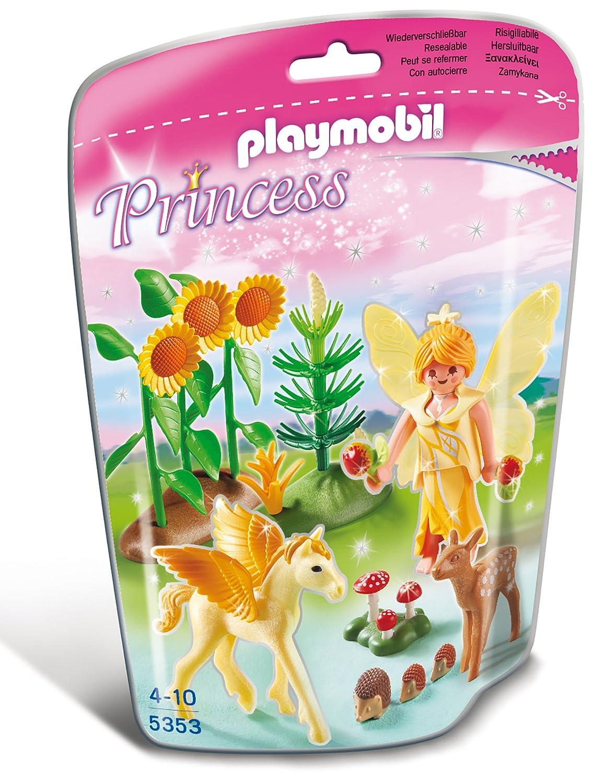 PLAYMOBIL 5353 – Waldfee mit Pegasusbaby – Goldstaub als Geschenk