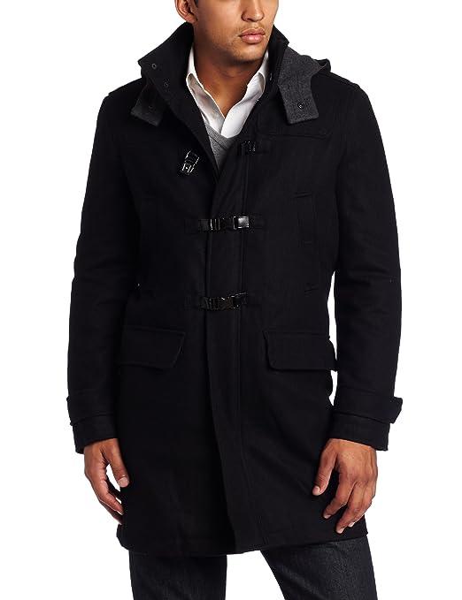 Kenneth Cole Men's Melton Toggle Coat