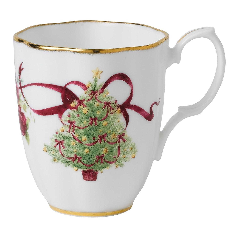 Old Country Roses Christmas Tree Mug