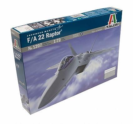Italeri - I1207 - Maquette - Aviation - F-22 Raptor - Echelle 1:72