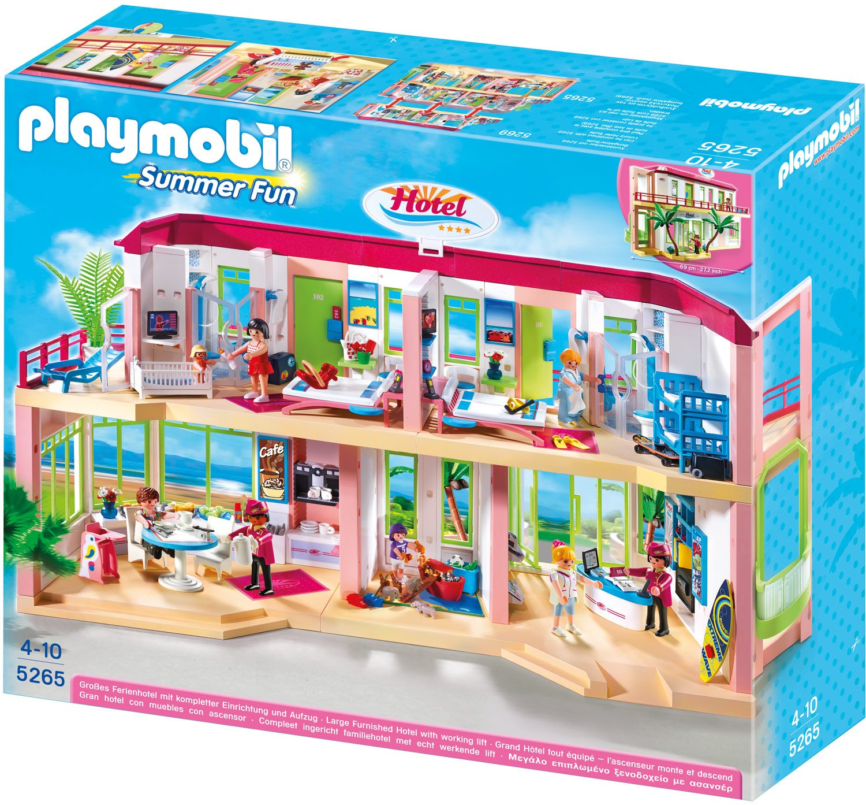 PLAYMOBIL® Großes Ferienhotel mit Einrichtung (5265)