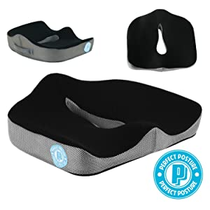 Perfect Posture<sup>™</sup> New Model Memory Foam width=