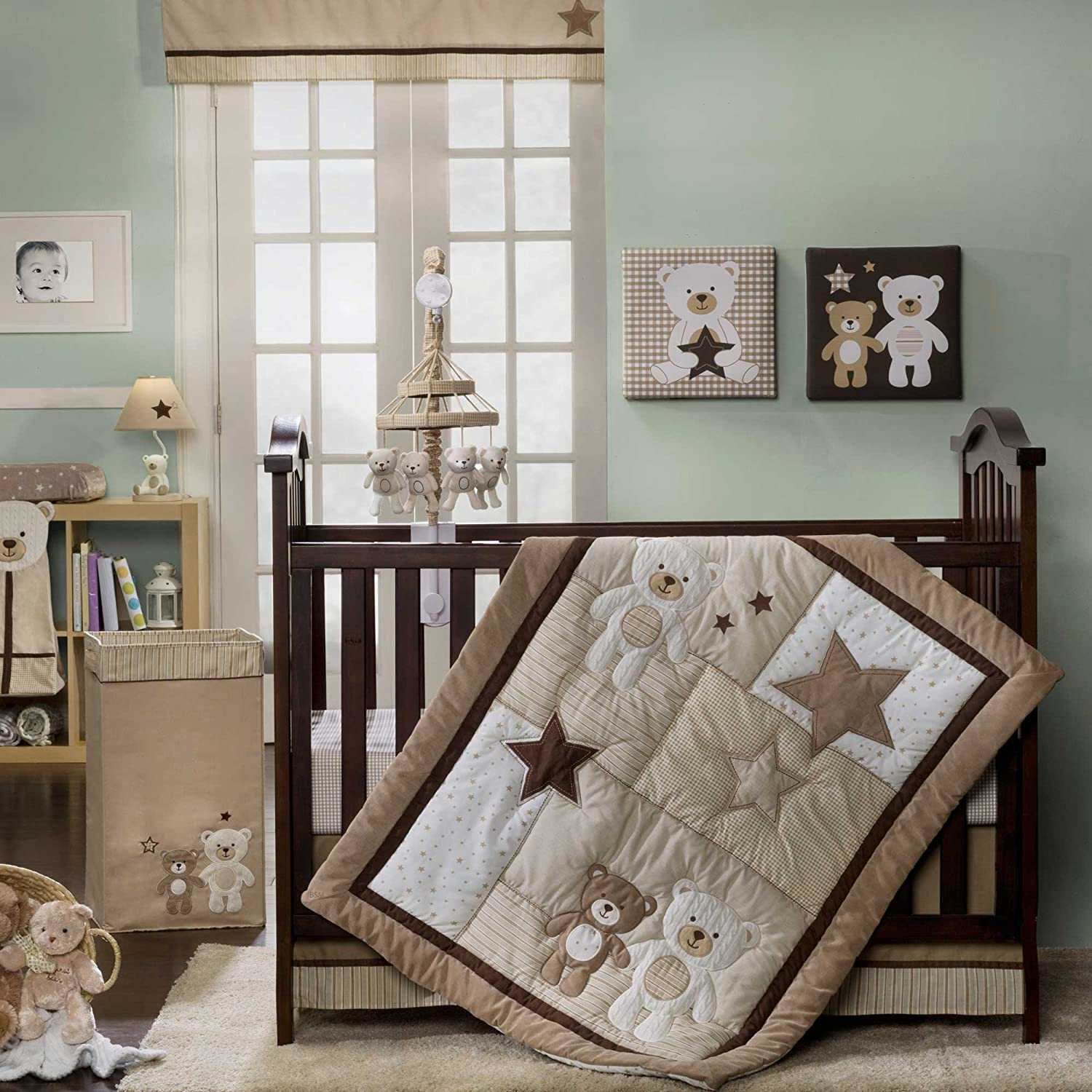 Carters Baby Bear Crib Bedding Collection Baby Bedding