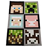 Fabric Kit - Table Runner Kit - Quilt Kit - Die Cut Precut Fabric Pack (Mine Craft) (Color: Mine Craft, Tamaño: 2.5 Inches)