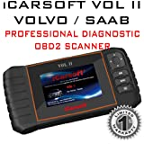 iCarsoft VOL II for Volvo / Saab Professional Diagnostic OBD2 Scanner Read Clear Erase Error Codes