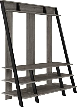 Altra Ladder Style Home Entertainment Center for TVs, 48-Inch, Sonoma Oak