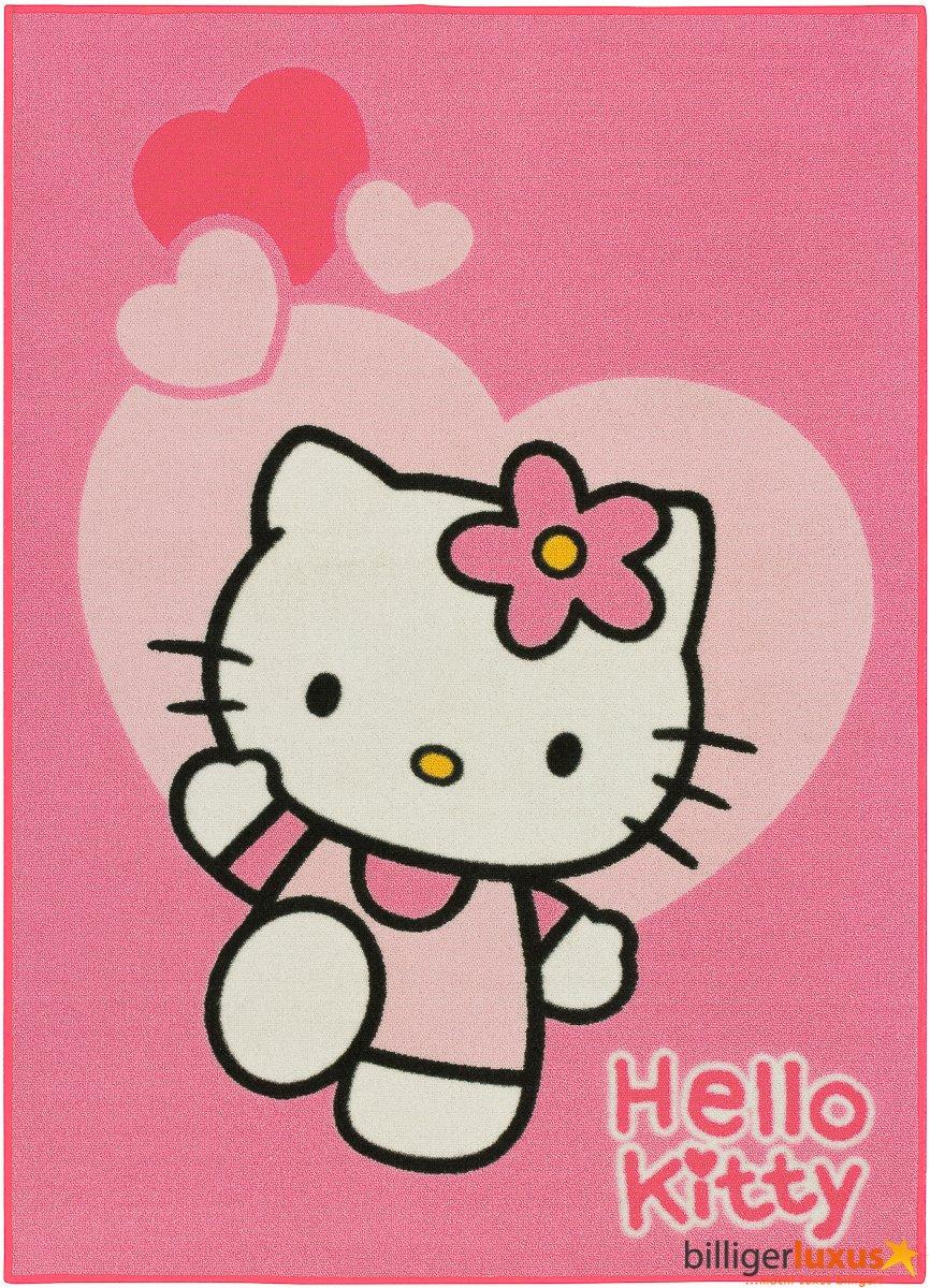 Spielteppich Hello Kitty Love 0,95 x 1,33 günstig