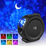 Star Projector, 3-1 Ocean Wave Projector Star Sky Night Light w/LED Nebula Cloud Touch&Voice Control Christmas Projector Light for Bedroom/Game Rooms/Home Theatre/Room Decor/Night Light Ambiance (Color: Black)