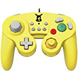 HORI Nintendo Battle Pad (Pikachu) GameCube Style Controller - Nintendo Switch (Color: Pikachu)