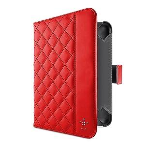 Belkin F7N040vfC02 - Funda para tablet iPad Mini, rojo  Informática Comentarios de clientes y más información