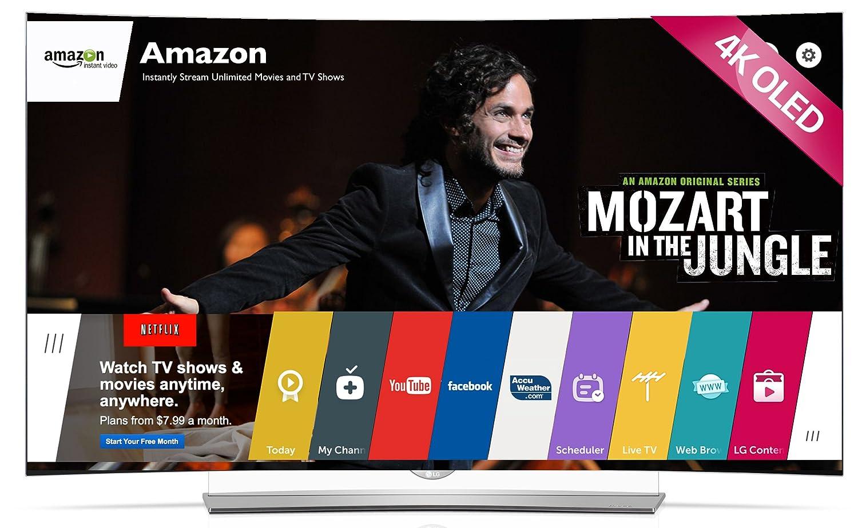 LG Electronics 65EG9600 65-Inch 4k Ultra HD 3D Curved OLED TV