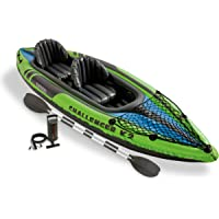 Intex Challenger K2 Kayak (Yellow/Blue)