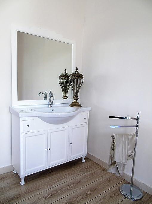 Arredo bagno contemporaaneo shabby chic bianco con lavabo mobile contemporaneo bagno